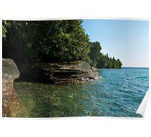 Grand Island Shoreline Poster