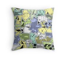 """jumblies"" Throw Pillow"