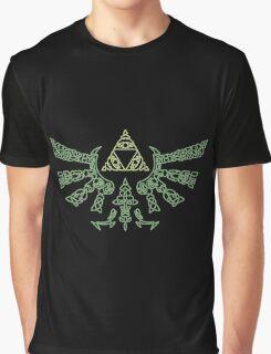 The legend of zelda Triforce Graphic T-Shirt