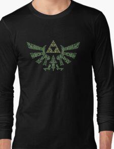 The legend of zelda Triforce Long Sleeve T-Shirt