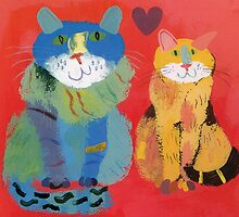 Love Cats by Ollie Lett