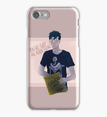 Phil's cereal addiction iPhone Case/Skin