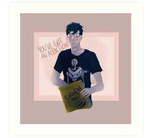 Phil's cereal addiction Art Print