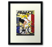 Tour De France Framed Print