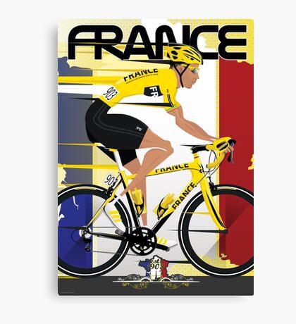 Tour De France Canvas Print