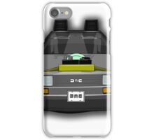 Regreso al Futuro Delorean iPhone Case/Skin