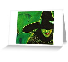 Wicked Felt Tip Pen Drawing Greeting Card