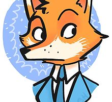 Mr. Fox, CEO by CourtneyHahn