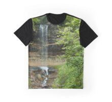 Munising Falls Graphic T-Shirt