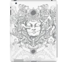 Mayan Head iPad Case/Skin