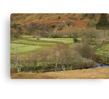 LAKES COUNTRYSIDE Canvas Print