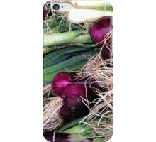 leeks and onions iPhone Case/Skin