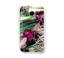 leeks and onions Samsung Galaxy Case/Skin