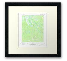 USGS TOPO Map Alaska AK Black River A-2 354614 1956 63360 Framed Print