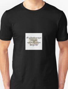 Luke Cutforth - Vegans (Heathens Parody) Unisex T-Shirt