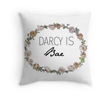 Darcy Is Bae Throw Pillow