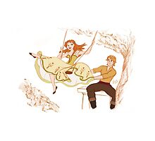 Anna and Kristoff - The Swing by alexanderbim