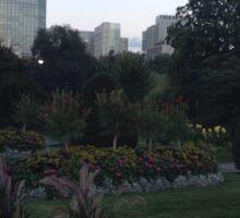 Gorgeous Boston Public Gardens Sticker