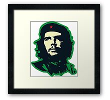 Che - Green Framed Print