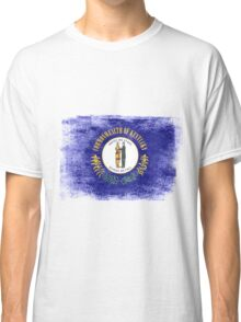 Kentucky State Flag Distressed Vintage  Classic T-Shirt