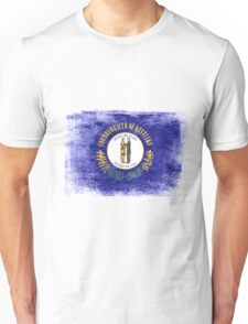Kentucky State Flag Distressed Vintage  Unisex T-Shirt