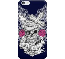 Rock`n Roll Skull iPhone Case/Skin