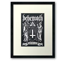 Satanic Band Framed Print