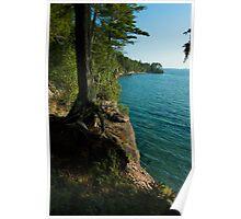 Grand Island Cliffs Poster