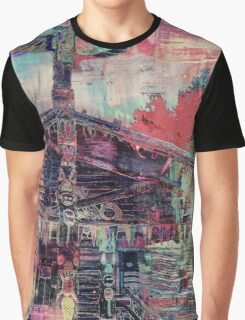 Totem Log Cabin Abstract - Multi Graphic T-Shirt