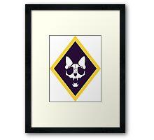 Murder Monarch (diamond) Framed Print