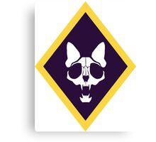 Murder Monarch diamond emblem Canvas Print