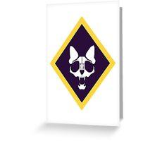 Murder Monarch (diamond) Greeting Card