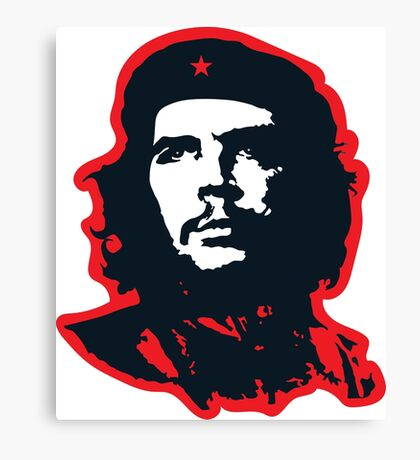Che - Red Canvas Print