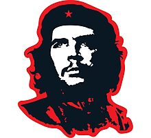 Che - Red Photographic Print