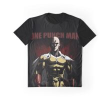 Caped Baldy Saitama Graphic T-Shirt