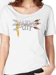 Kansas City Arrow [RED] Women's Relaxed Fit T-Shirt