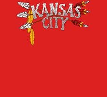 Kansas City Arrow [RED] Women's Fitted V-Neck T-Shirt
