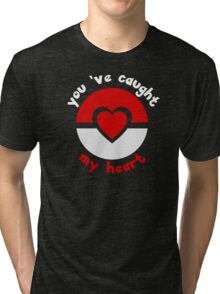 Pokemon Catch My Heart Tri-blend T-Shirt