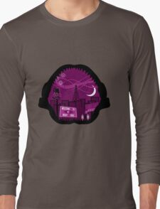 Jaws Welcome to Night Vale Landscape Long Sleeve T-Shirt