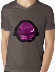 Jaws Welcome to Night Vale Landscape Mens V-Neck T-Shirt