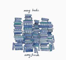 Many Books, Many Friends One Piece - Short Sleeve