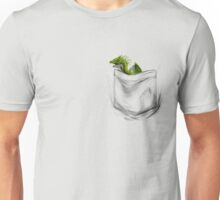 Little Dragon In My Pocket 1 - Green Unisex T-Shirt