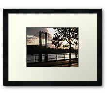 Infirmary Bridge, Inverness 2 Framed Print
