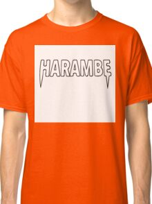 Harambe x Yeezus  Classic T-Shirt