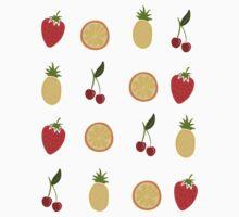 Fruit Salad  One Piece - Short Sleeve