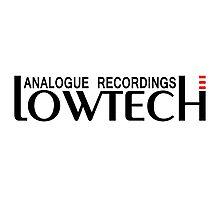 Lowtech analogue recordings black Photographic Print