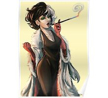Where are my puppies - Cruella Poster