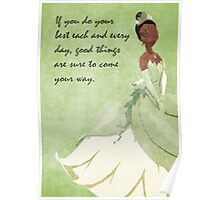 Princess and the Frog inspired design. Poster