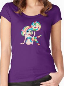 Sweet <3's - Miss Candy Women's Fitted Scoop T-Shirt