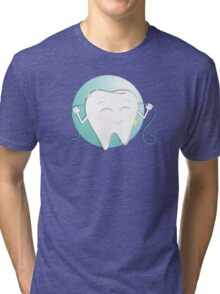 Happy Tooth Tri-blend T-Shirt